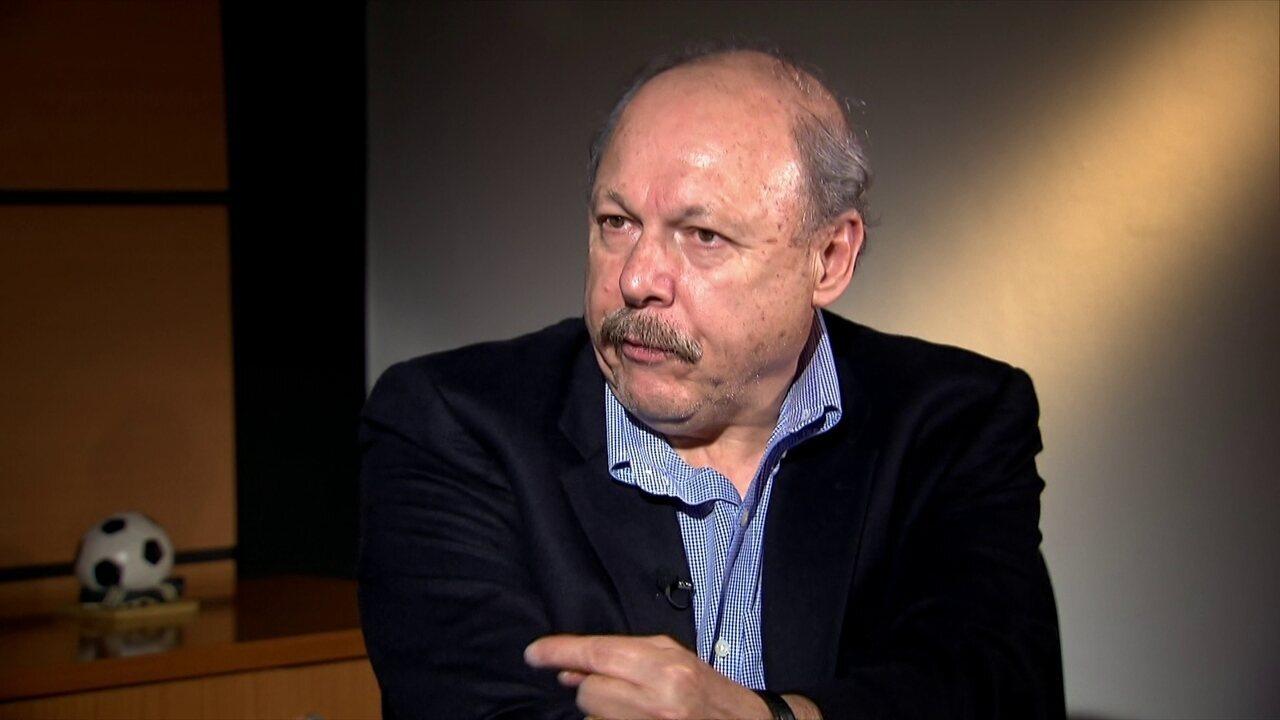 Presidente do Santos fala sobre o caso Carlos Sánchez