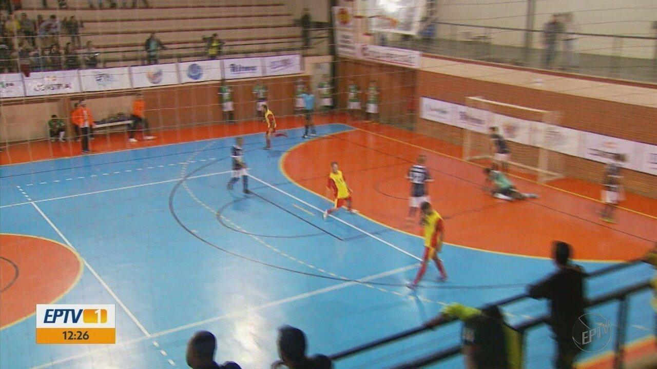 Monte Santo de Minas e Ouro Fino se preparam para a final da Taça EPTV de Futsal Sul de MG