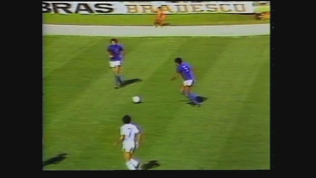 Vocë se lembra? Cruzeiro vence Flu, no Mineirão, e quebra jejum diante de rivall, em 1980