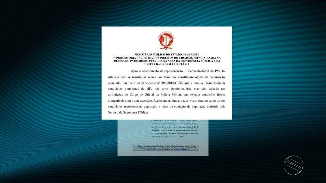 MPE solicitou que exigência para teste de sorologia seja retirada dos editais