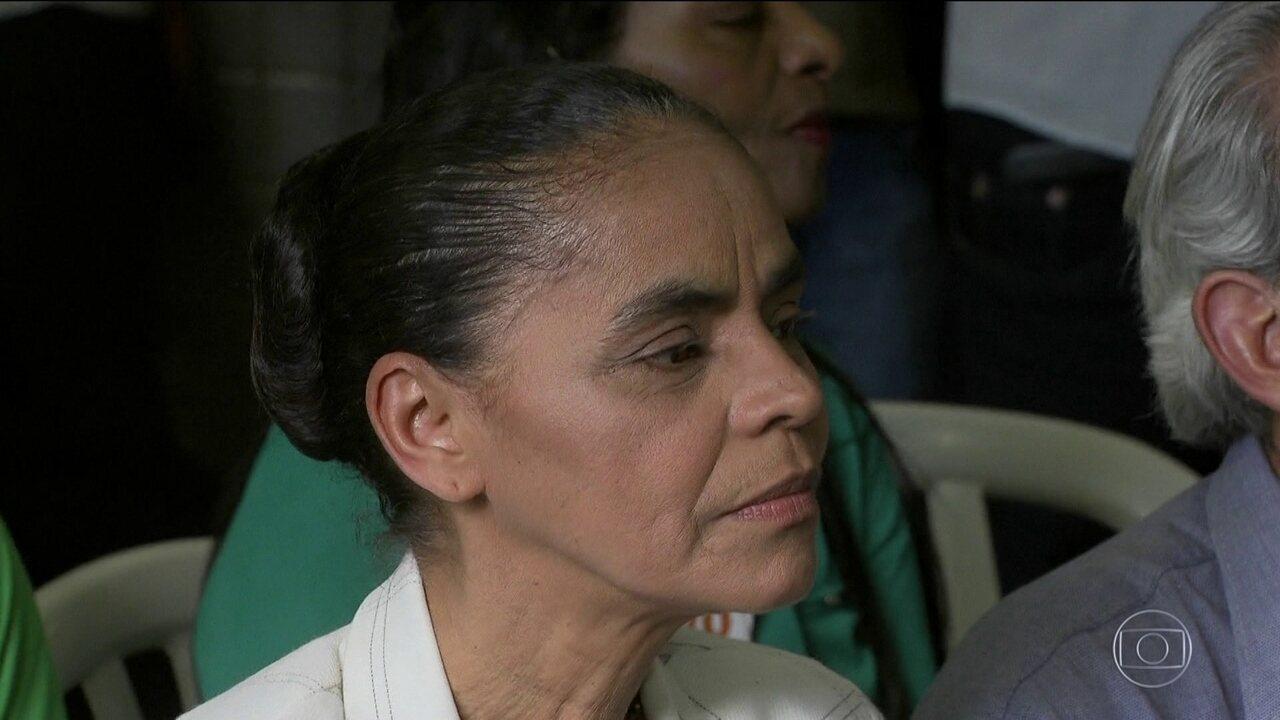 Marina Silva faz campanha no Distrito Federal