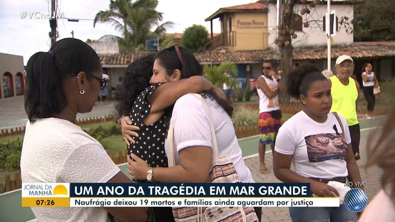 Tragédia em Mar Grande: ato ecumêmico lembra um ano do naufrágio