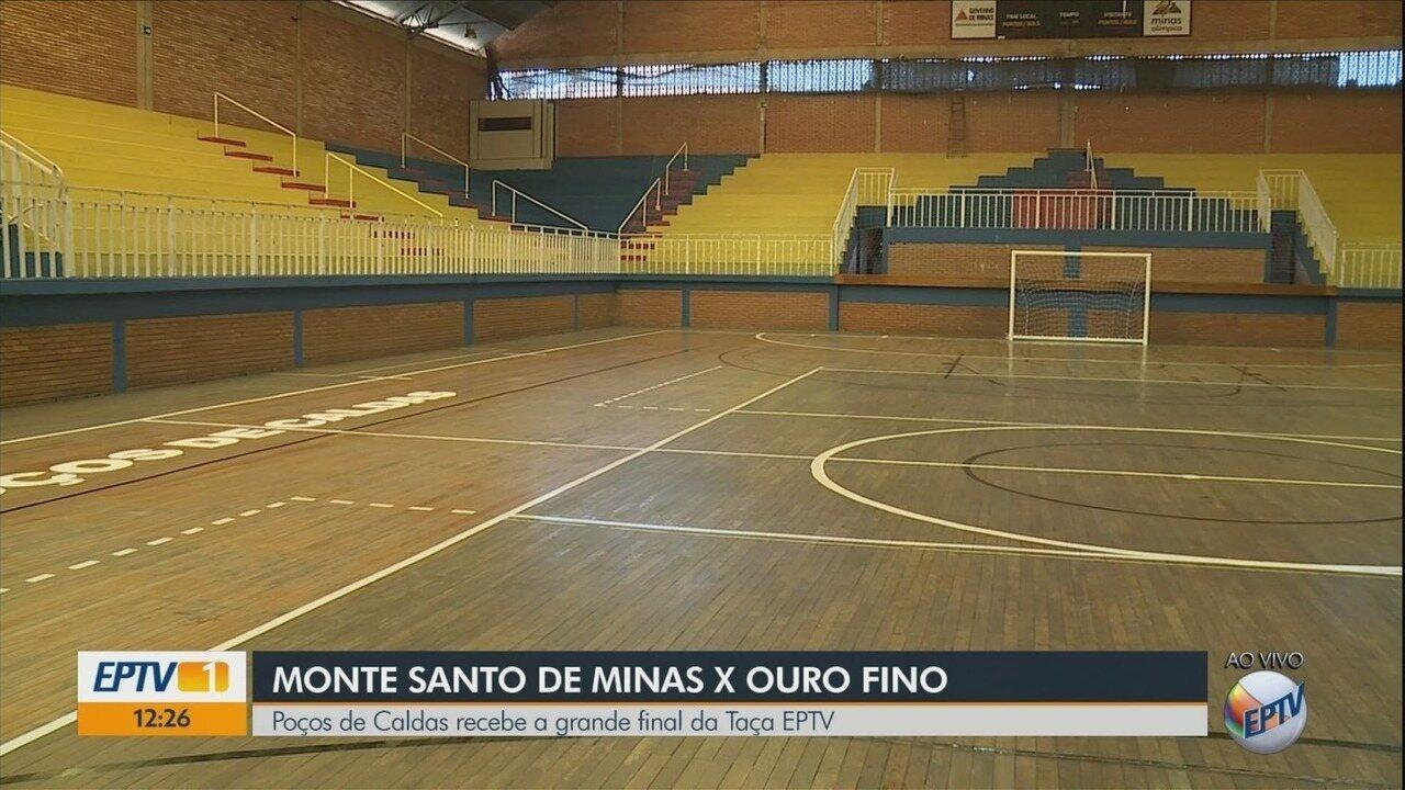 Conheça o ginásio onde Ouro Fino e Monte Santo de Minas decidem a Taça EPTV de Futsal