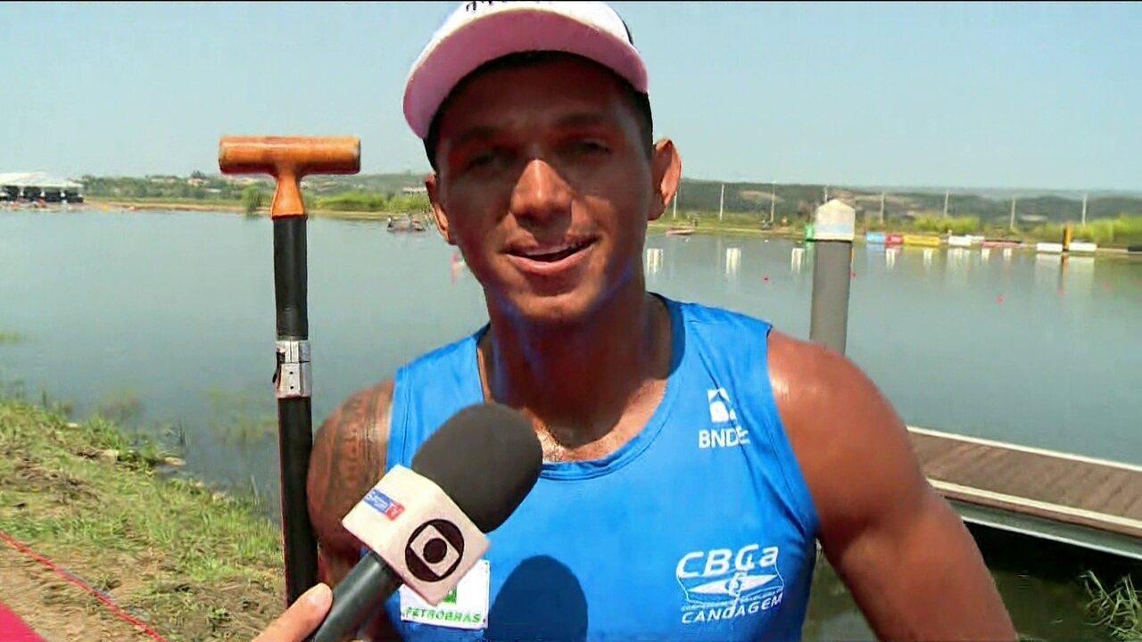 Isaquías Queiroz conquista medalha de bronze nos 1000 metros no Mundial de canoagem