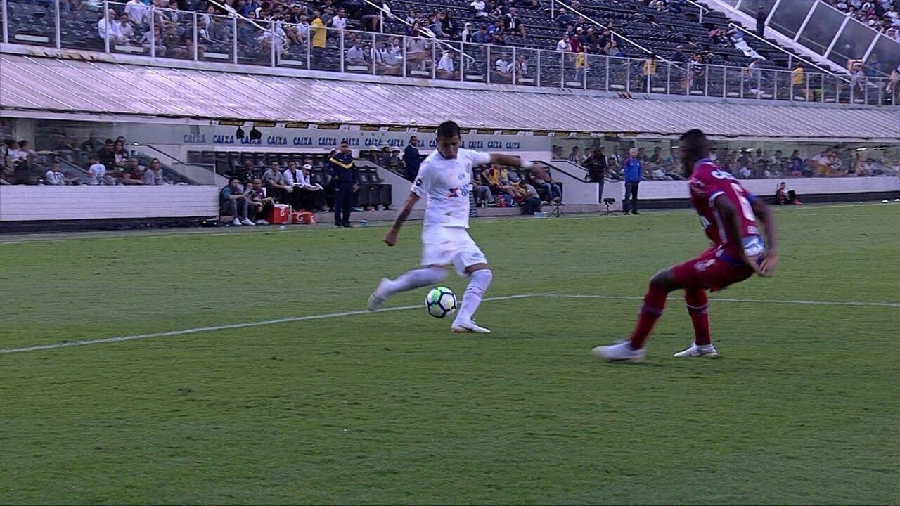 Melhores momentos de Santos 2 x 0 Bahia pela 21ª rodada do Campeonato Brasileiro