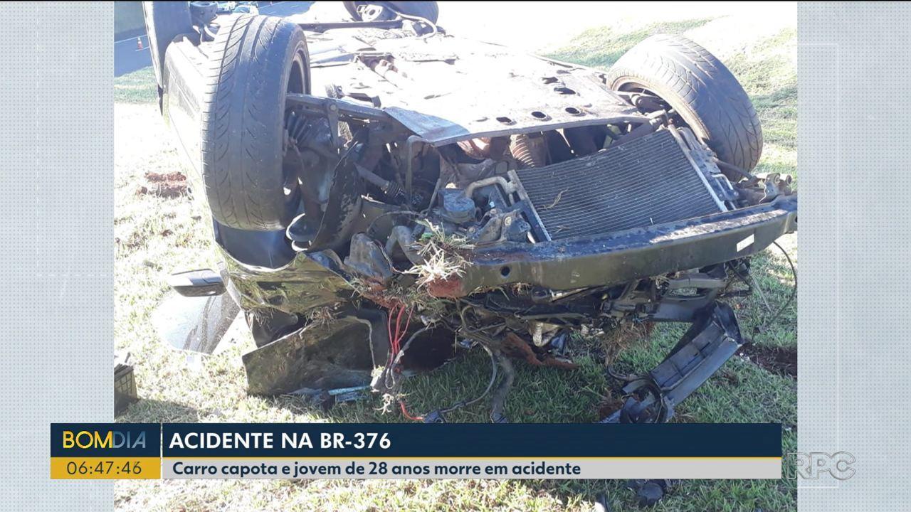 Fim de semana com morte nas estradas do norte do estado