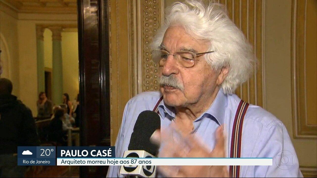 Morreu o arquiteto e urbanista Paulo Casé