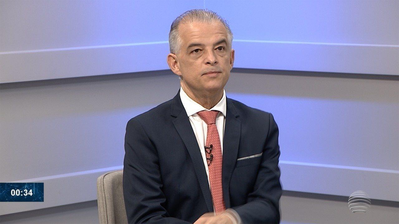 Márcio França concede entrevista ao Fronteira Notícias