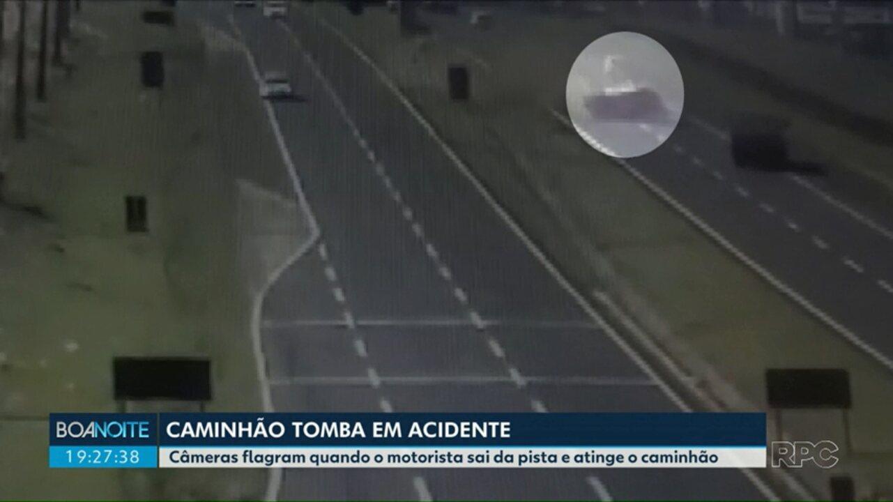 Região de Maringá registra dois acidentes com capotamento nesta terça-feira (28)