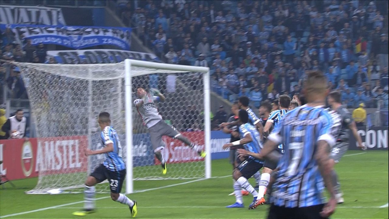 Melhores momentos de Grêmio 2 (5) x (3) 1 Estudiantes pelas oitavas da Libertadores 2018