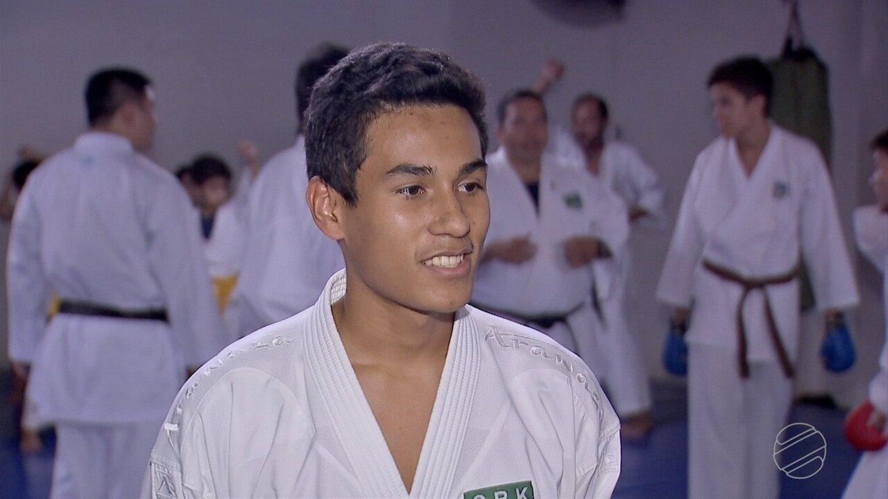 Atleta de MS conquista o bicampeonato no Pan-americano de Karatê sub-21