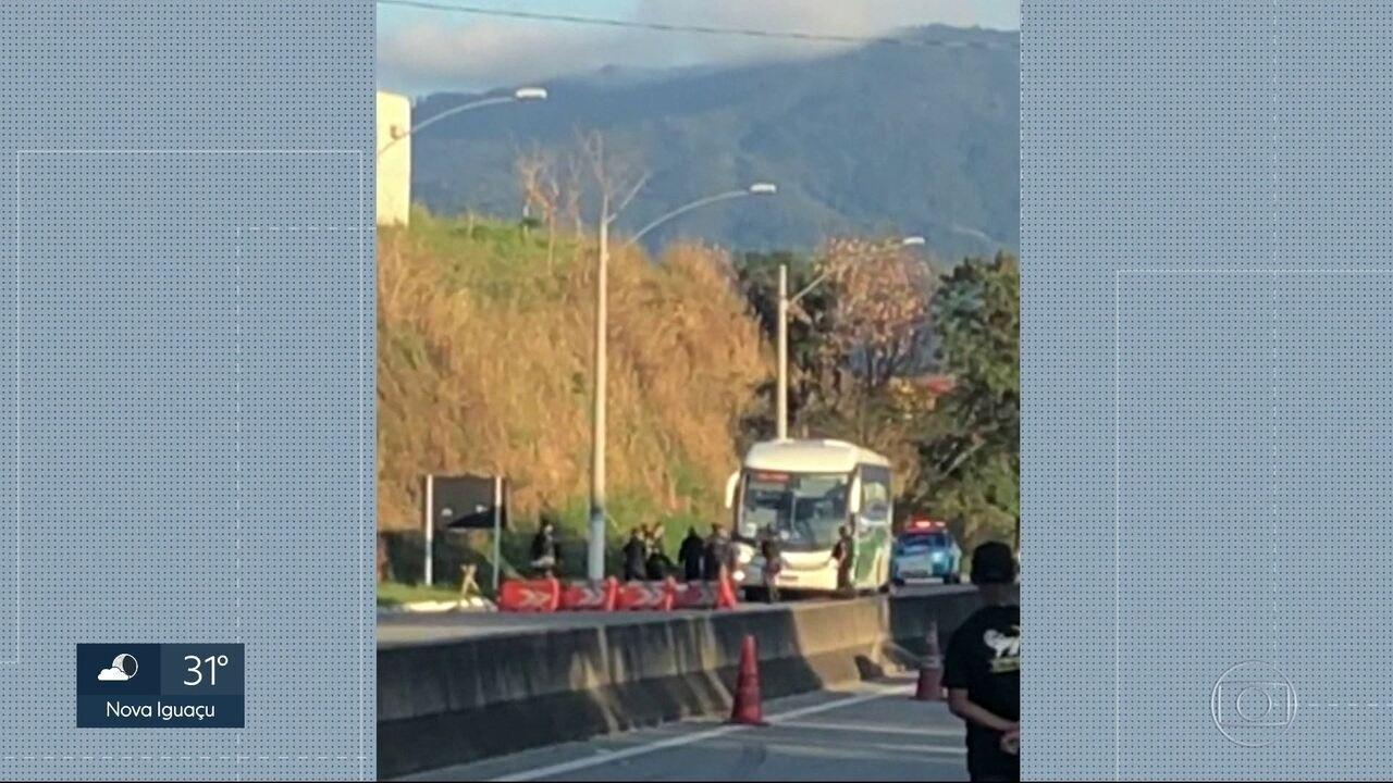 Assalto com reféns na Rio-Santos
