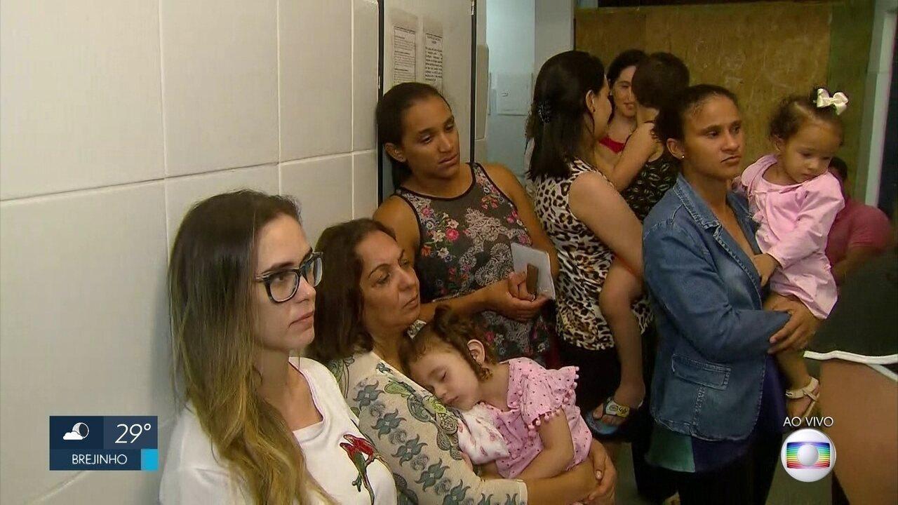 Campanha de vacinação contra polio e sarampo atinge meta em 76 cidades de Pernambuco