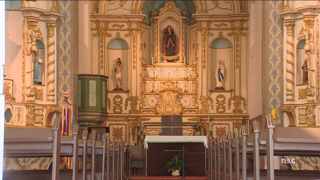 Igreja é furtada em Florianópolis e imagem centenária de Nossa Senhora da Lapa é levada