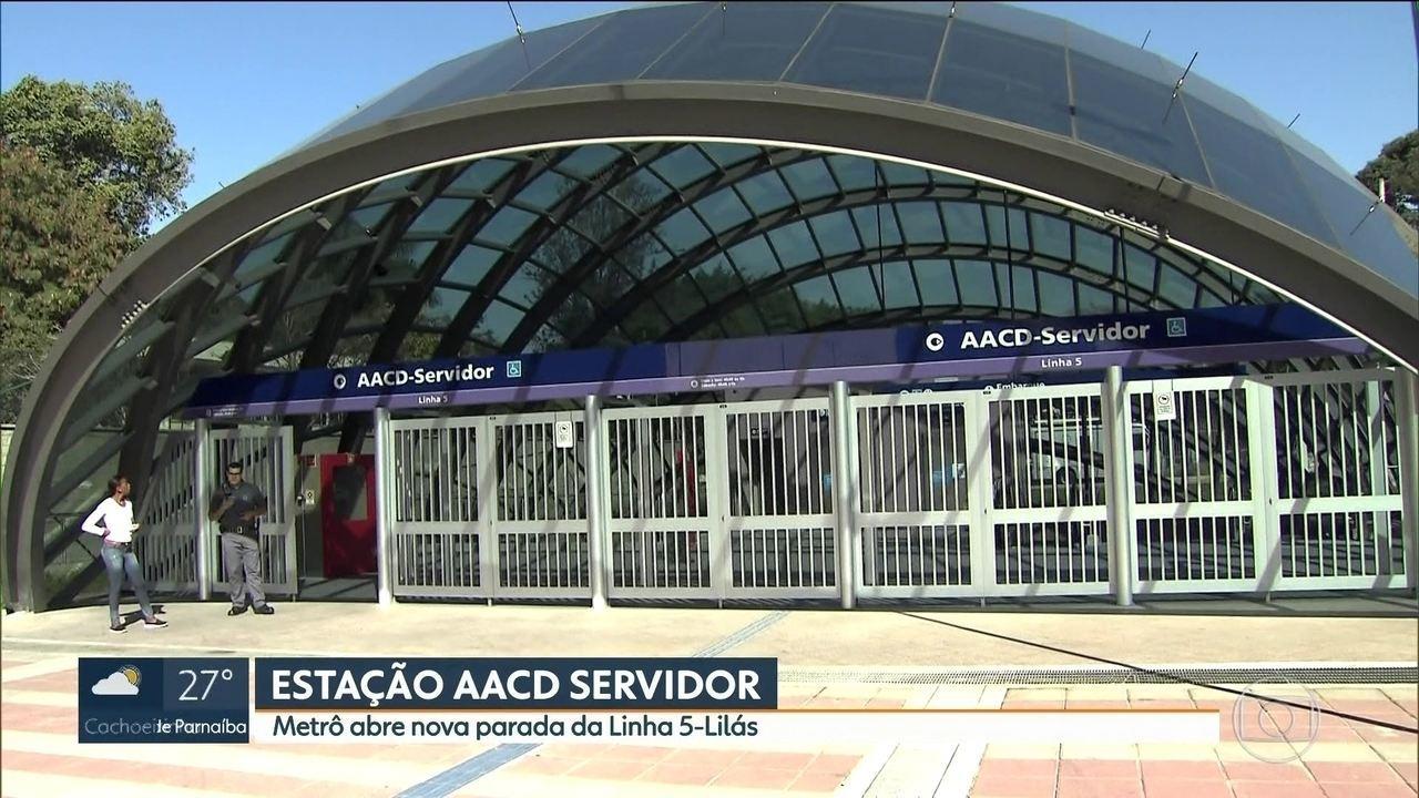 Resultado de imagem para Metrô inaugura mais uma estação na Linha 5 - Lilás