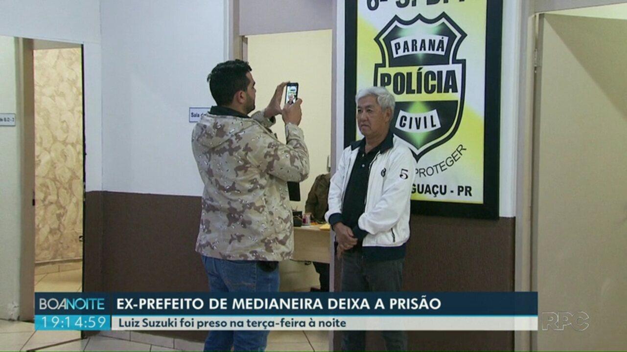 Ex-prefeito de Medianeira deixa a prisão