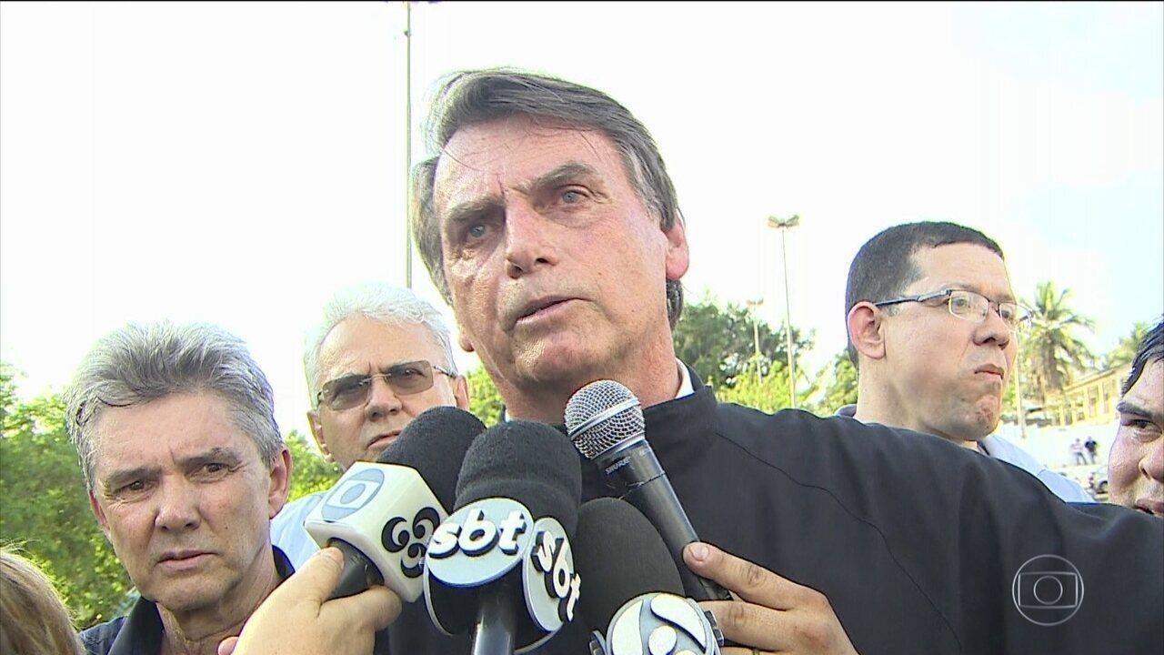 Candidato do PSL, Jair Bolsonaro, faz campanha em Porto Velho