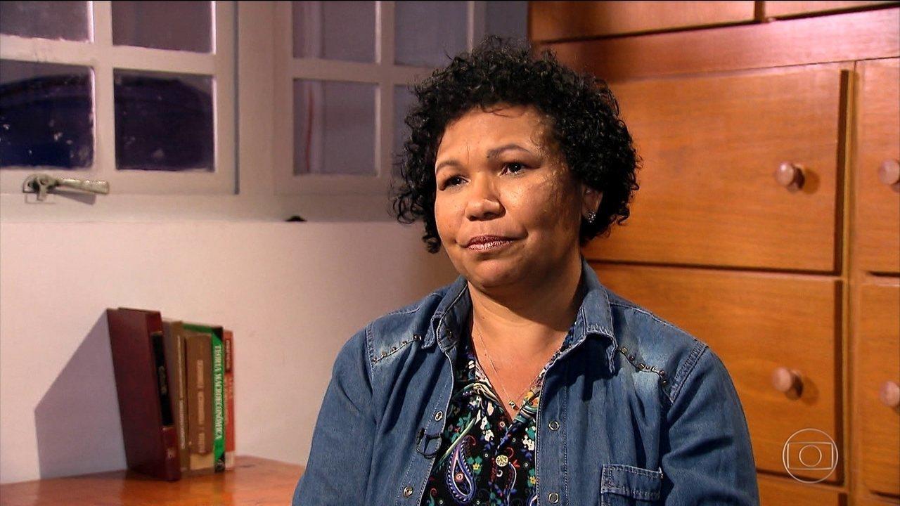 Jornal Nacional entrevista Vera Lúcia (PSTU)