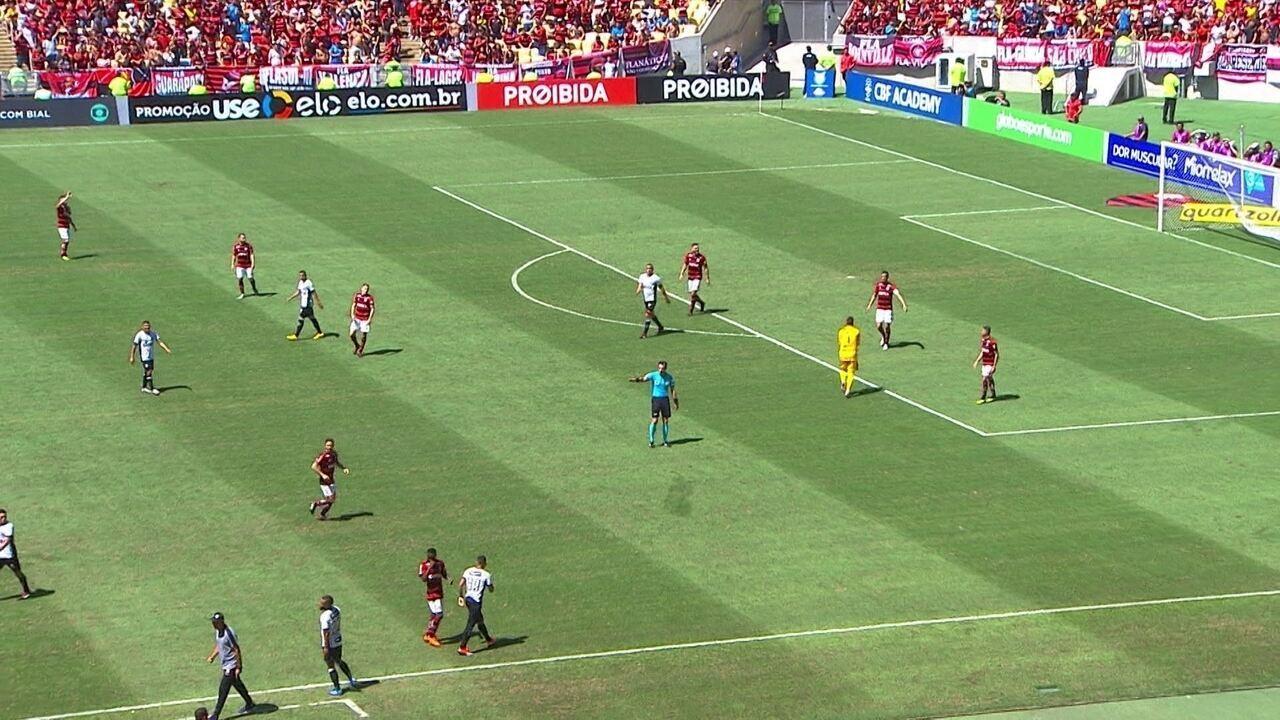 Melhores momentos: Flamengo 0 x 1 Ceará pela 22ª rodada do Brasileirão 2018