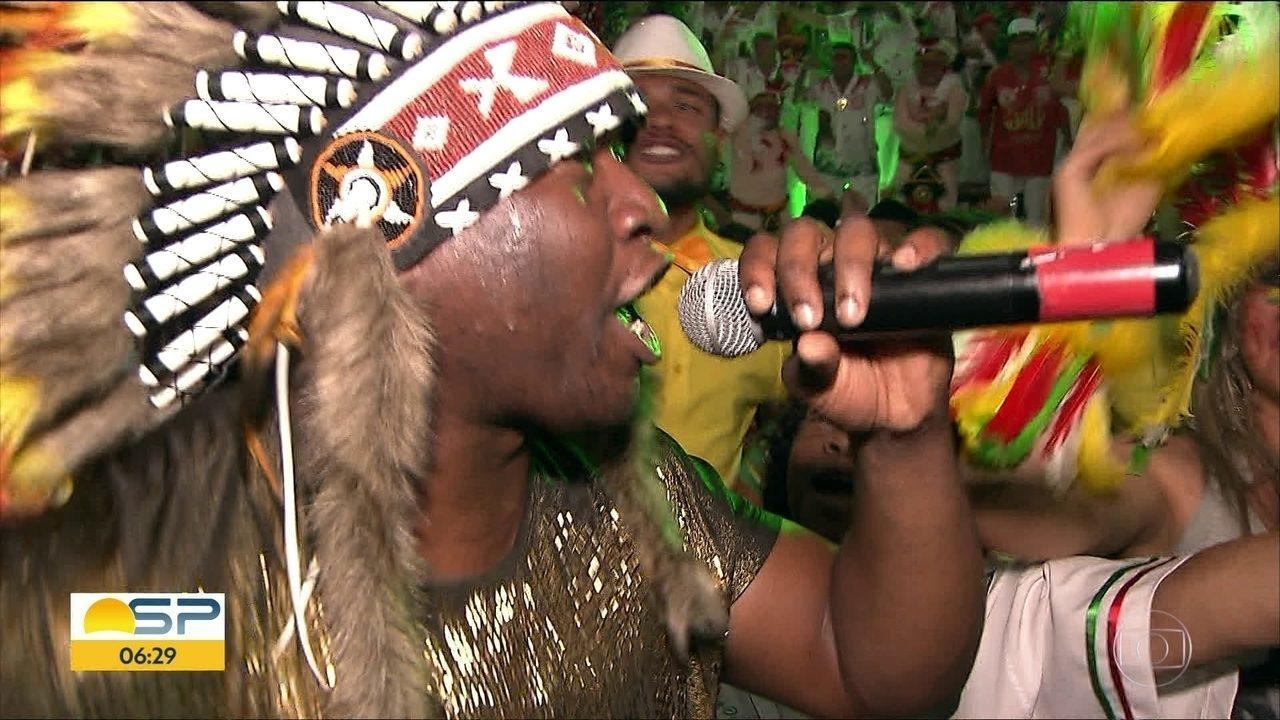 Mocidade Alegre escolhe o samba enredo para o desfile do Carnaval 2019