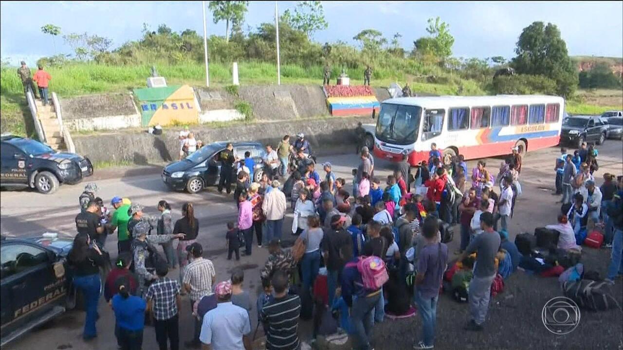 Estado do RS receberá mais de 600 venezuelanos nesta semana
