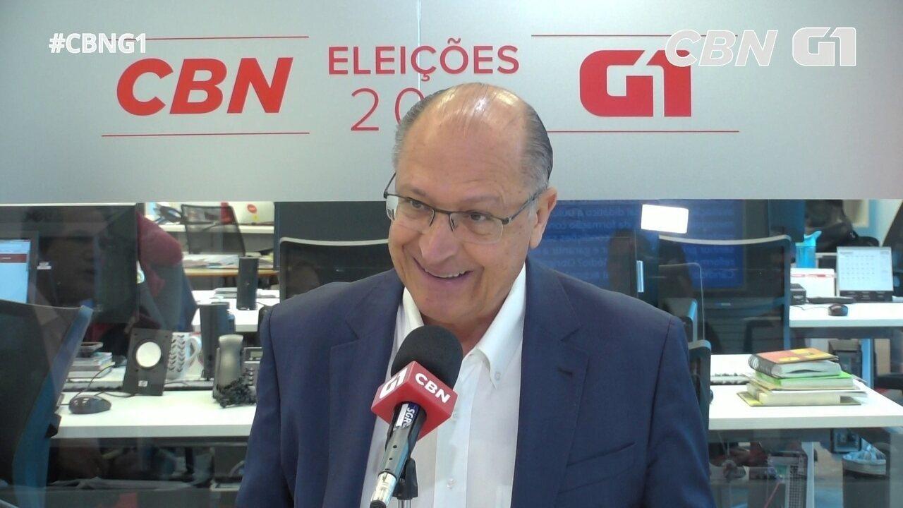 Alckmin fala sobre Ideb, educação básica e reforma no ensino médio