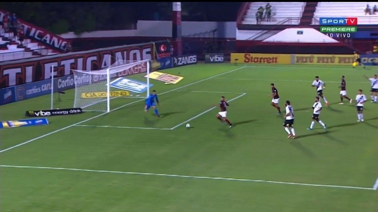 Veja os melhores momentos do jogo entre Atlético-GO e Ponte Preta