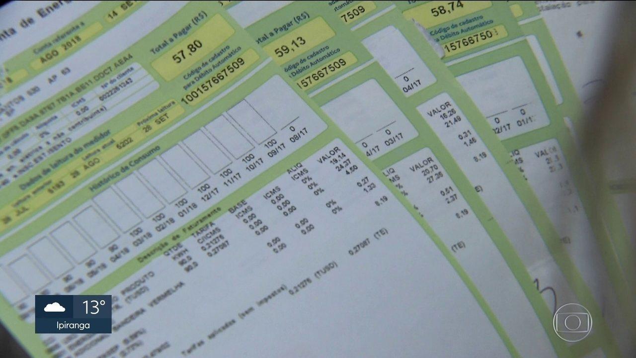 b47c1ed5248 Conta de luz  saiba quais são as taxas e impostos incluídos no ...