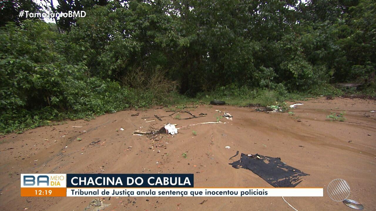 Chacina do Cabula: Tribunal de Justiça anula sentença que inocentou policiais