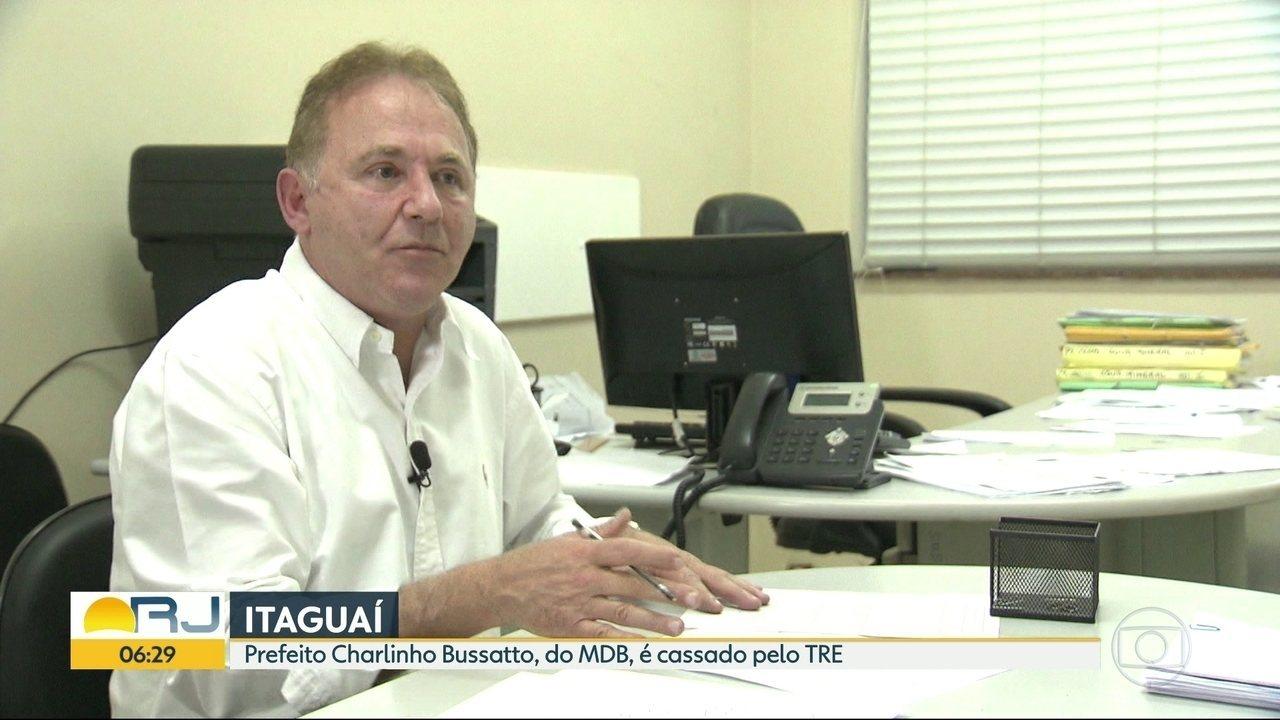Prefeito de Itaguaí é cassado pelo TRE