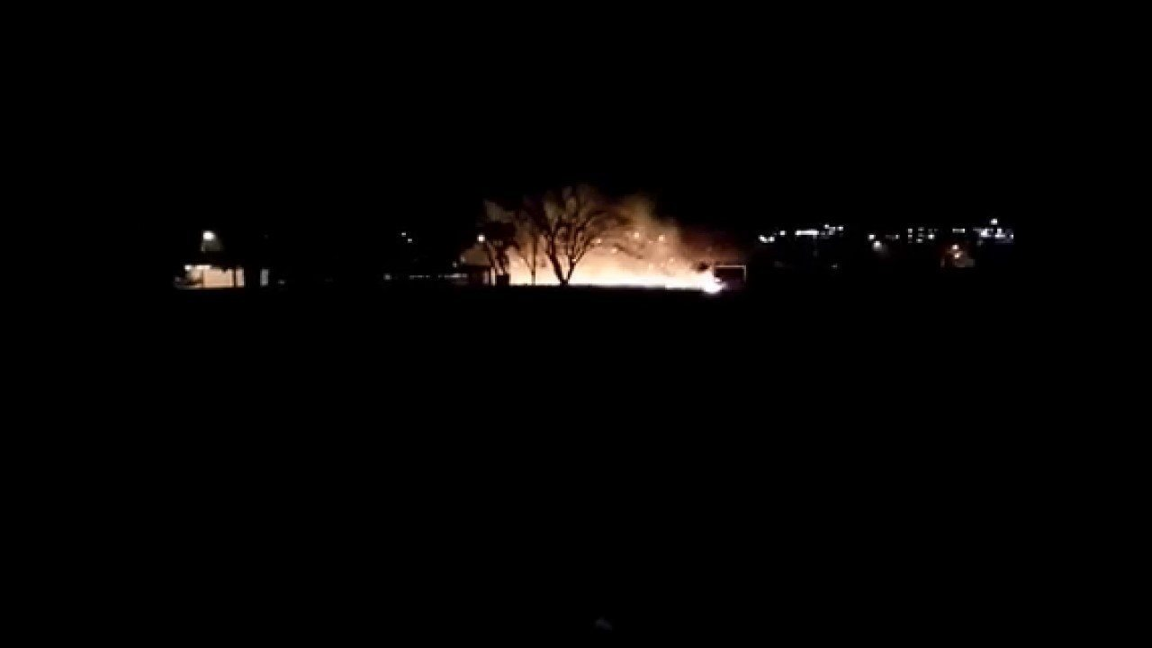Incêndio atinge clube desativado em Ituiutaba