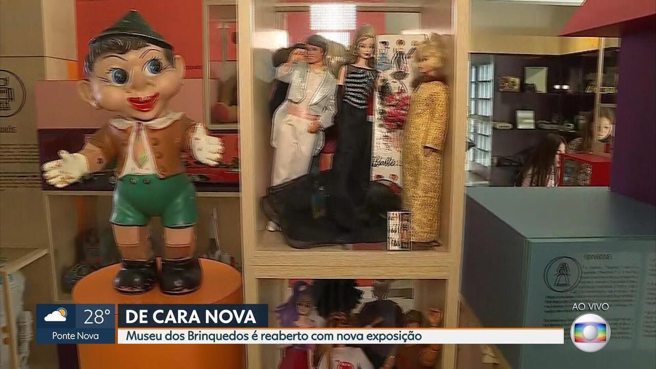 Museu dos Brinquedos em BH é reaberto após ficar fechado para obras de revitalização