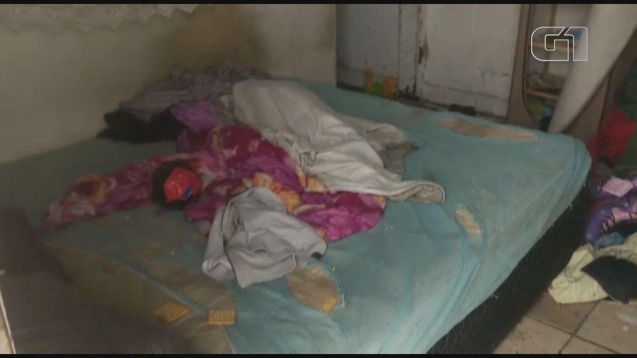 Criança é resgatada após ficar abandonada por cinco dias, em Praia Grande, SP