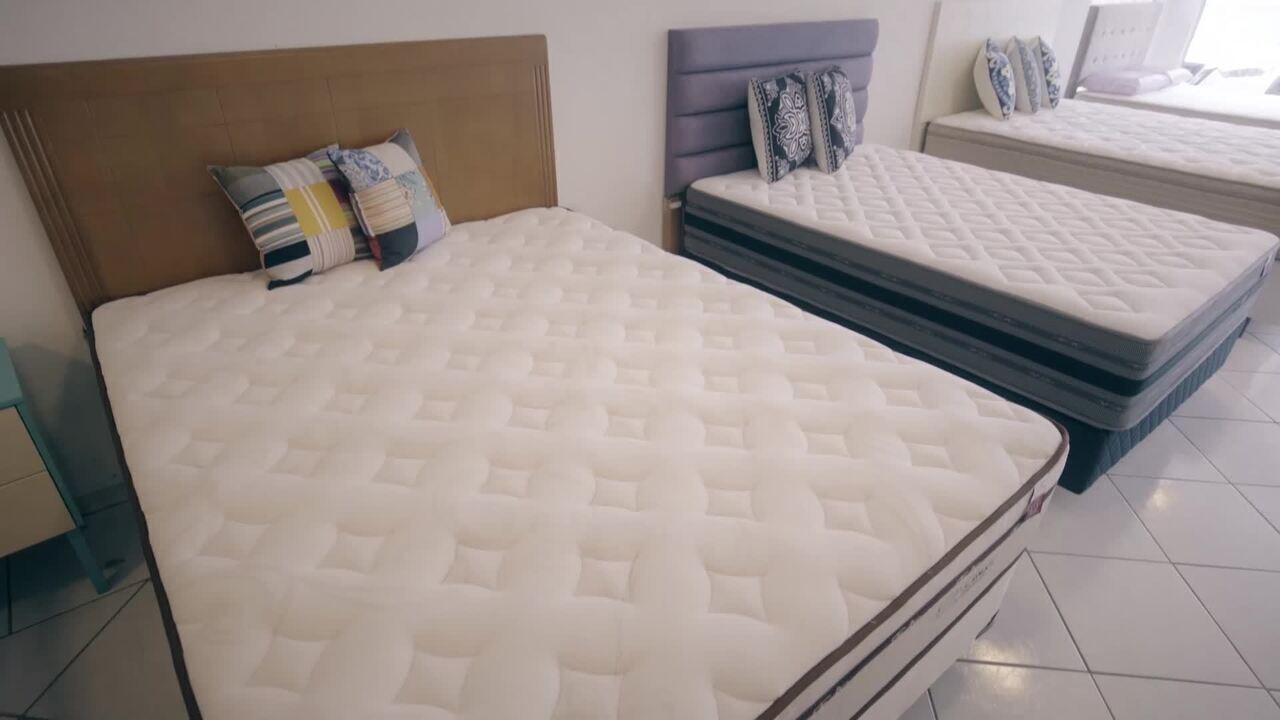 Veja como escolher o colchão ideal para uma boa noite de sono