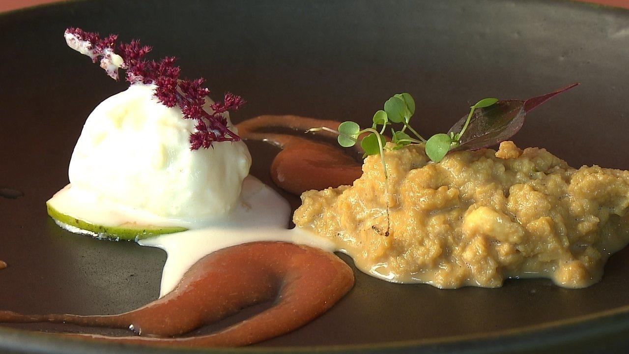 Ambrosia é a sobremesa feita pelo chef Ivo Faria com inspiração portuguesa