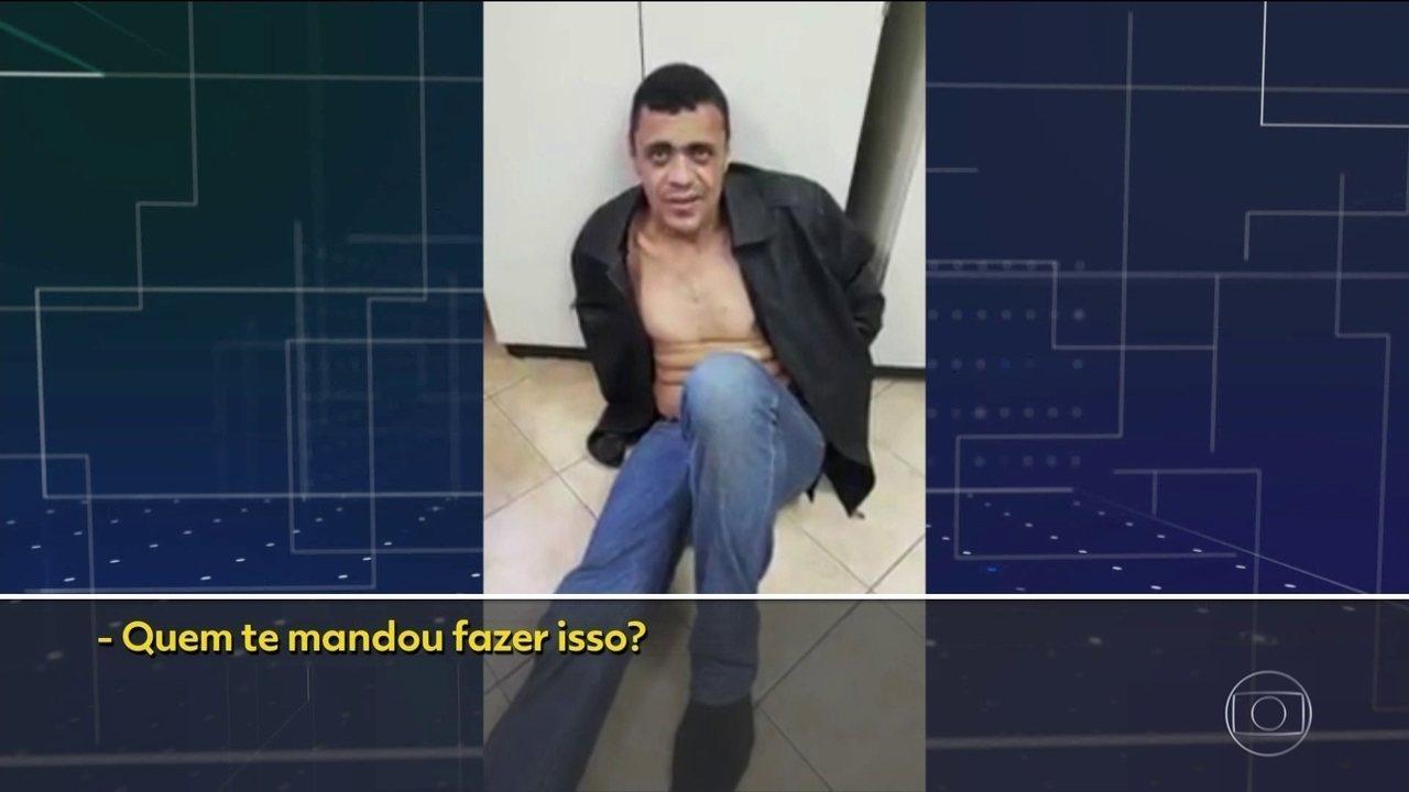 Agressor de Jair Bolsonaro diz que Deus o mandou esfaquear o candidato