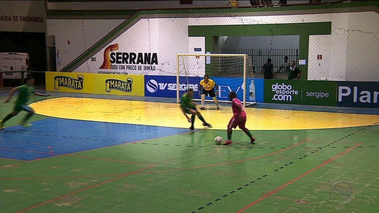 Maior goleada da 1ª rodada: Lagarto faz 8 a 1 em Arauá na Copa TV Sergipe