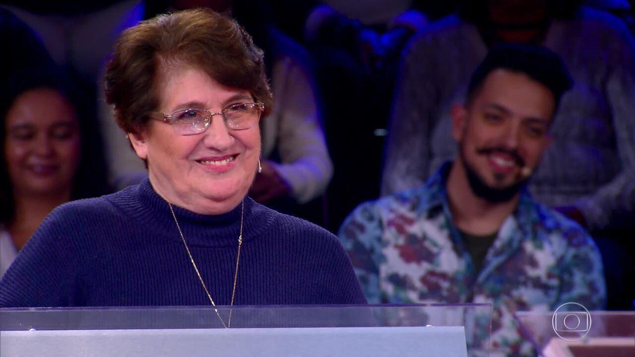 O 'Quem Quer Ser Um Milionário?' recebeu Deolinda Félix