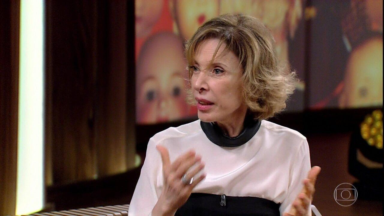 'Enchi de fazer entrevistas', fala Marília Gabriela