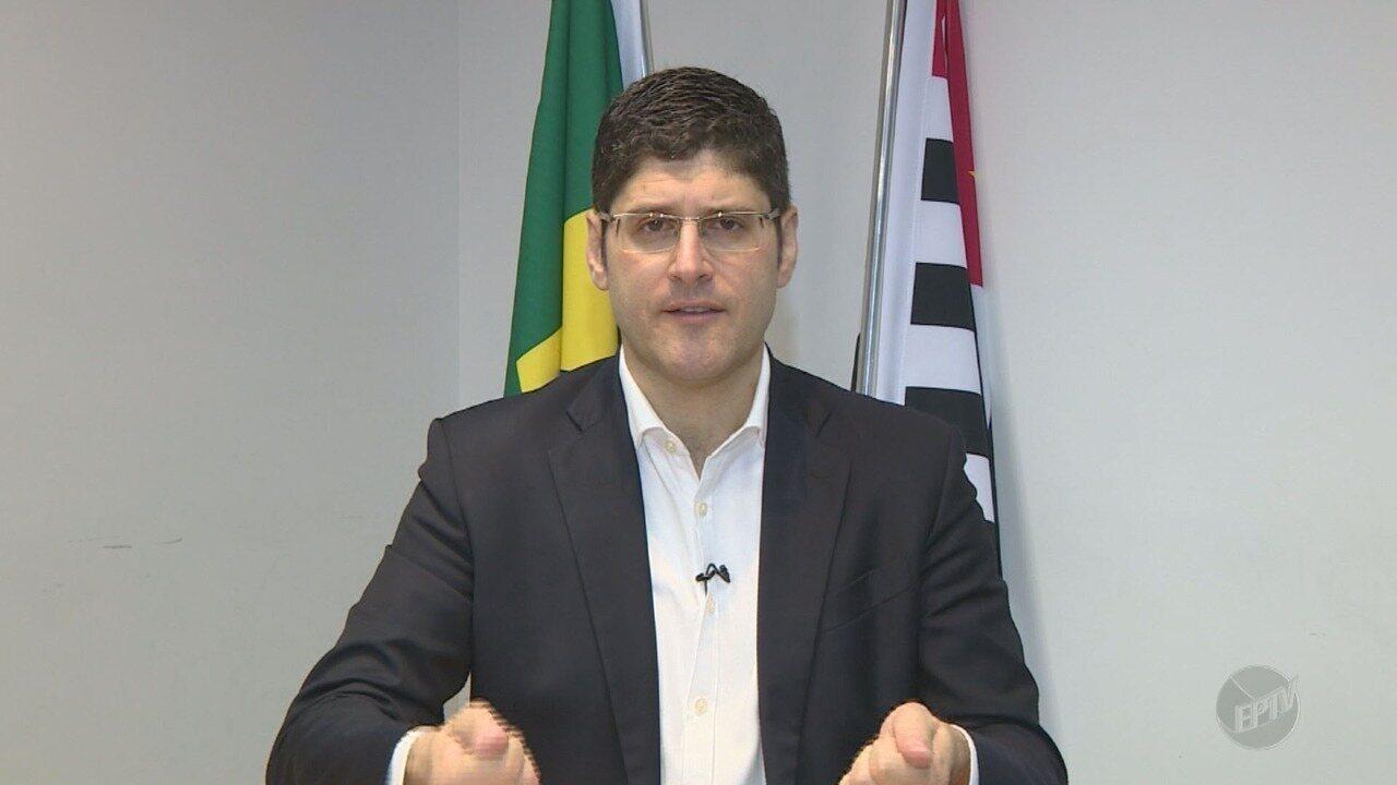 'Eleições 2018': EPTV 1 entrevista Rogério Chequer (Novo), candidato ao governo estadual