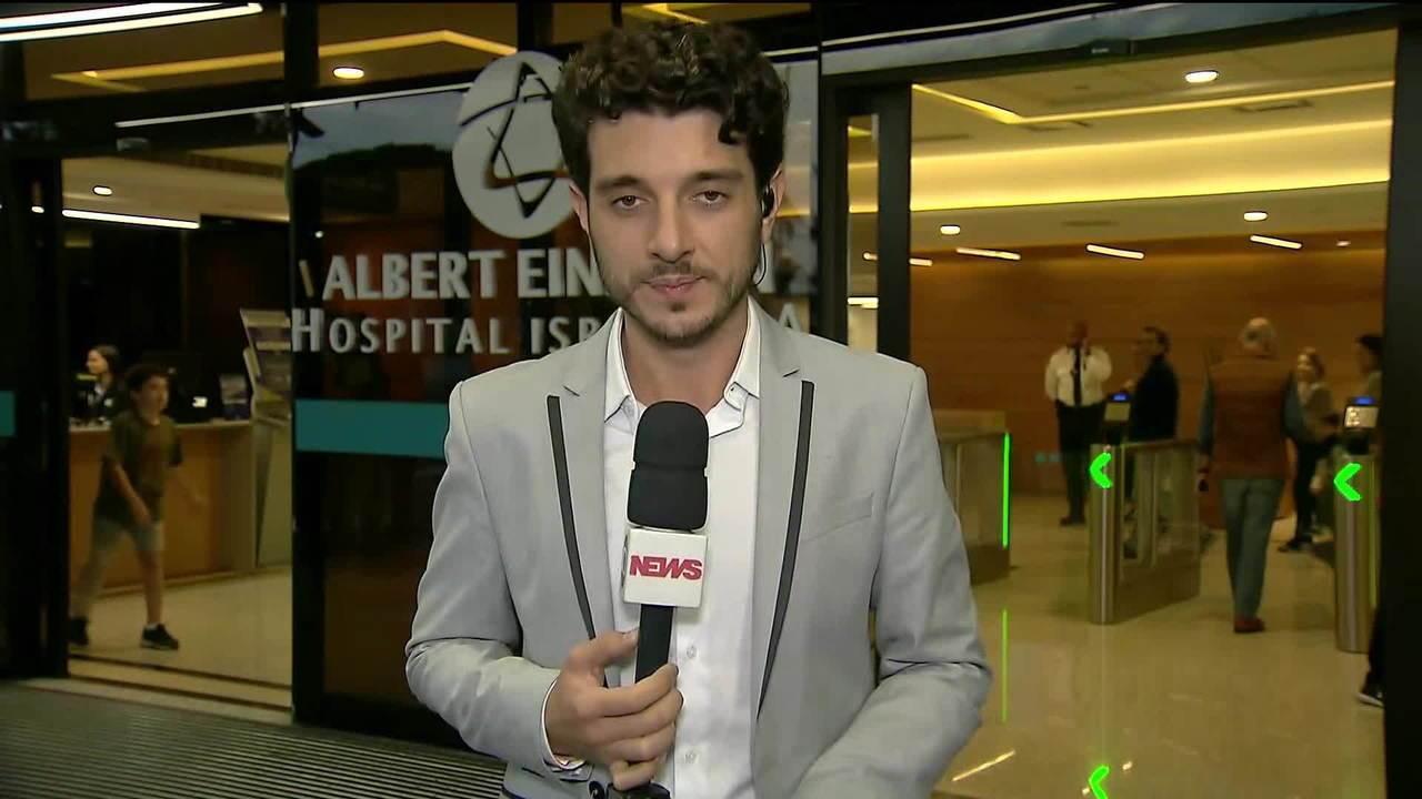 Jair Bolsonaro se recupera em hospital de São Paulo
