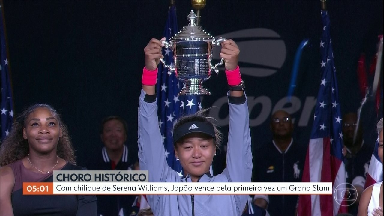 Naomi Osaka vence a americana Serena Williams no US Open