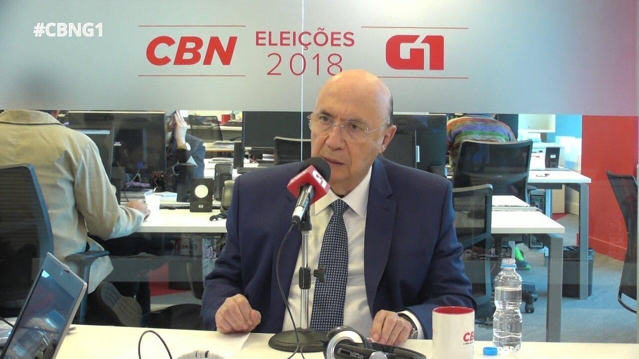 Henrique Meirelles responde a perguntas sobre o Monitor da Violência