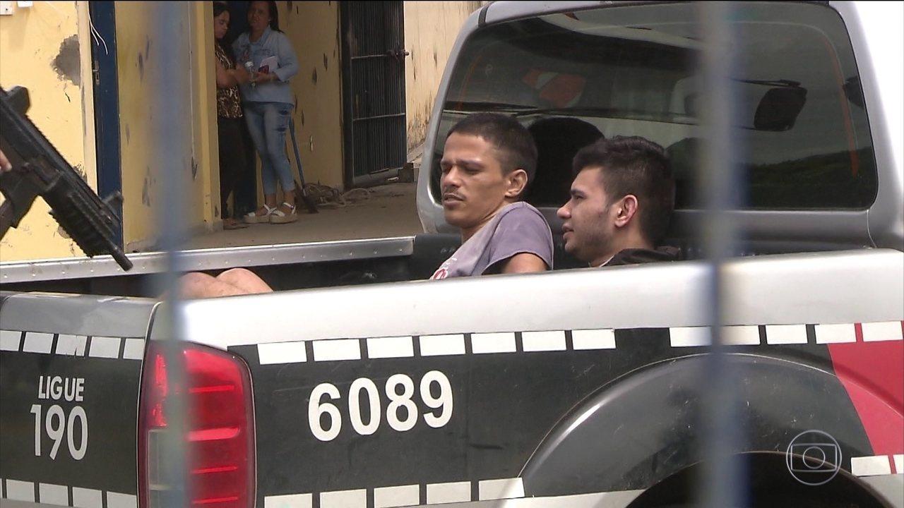 92 presos fugiram de uma penitenciária de segurança máxima em João Pessoa (PB)