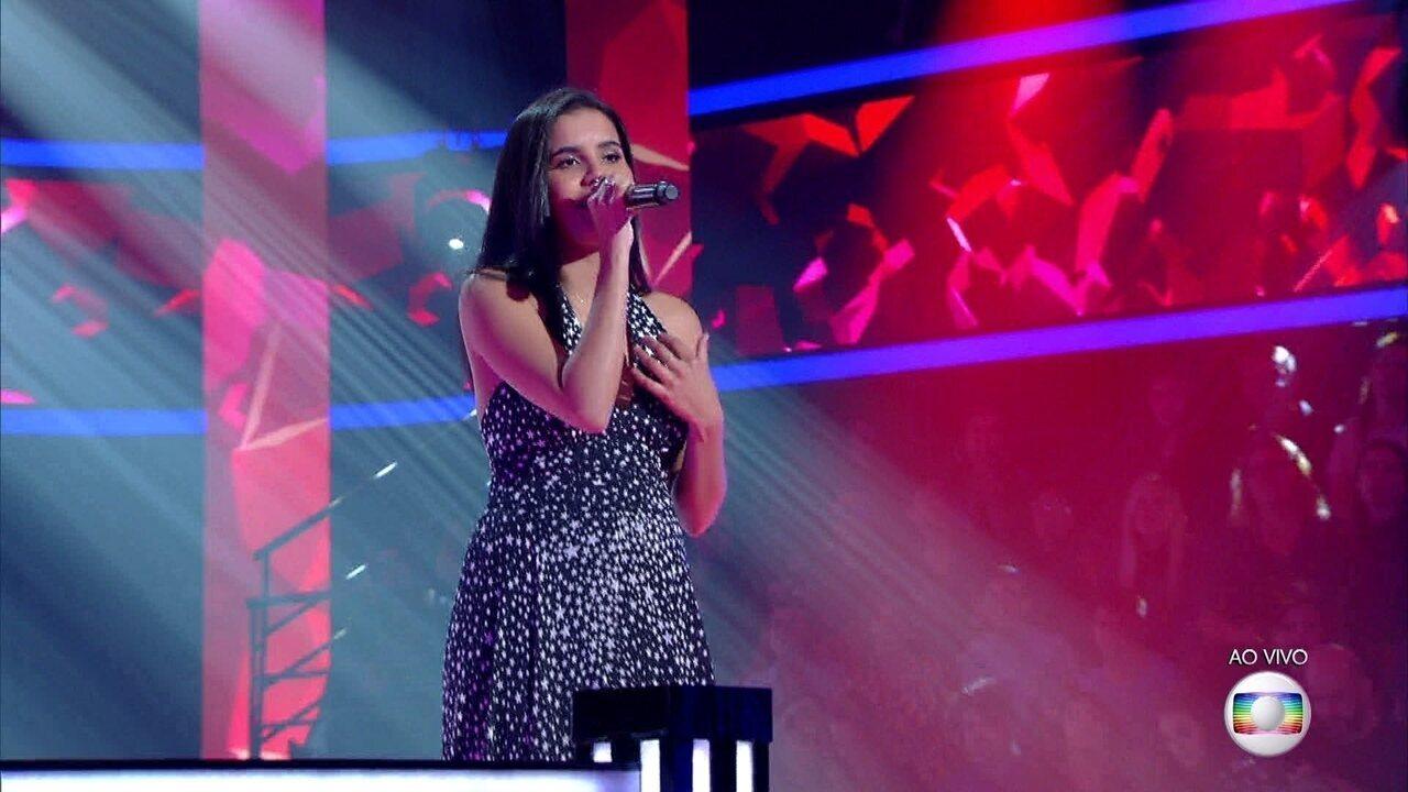 """Cristiane Santos canta """"Sereia"""""""