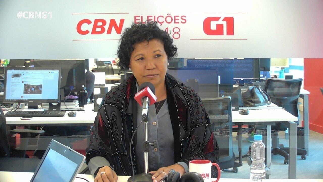 Presidenciável fala sobre violência, legalização de drogas e feminicídio
