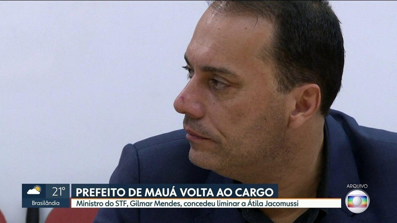 STF concede liminar e garante volta do prefeito de Mauá ao cargo