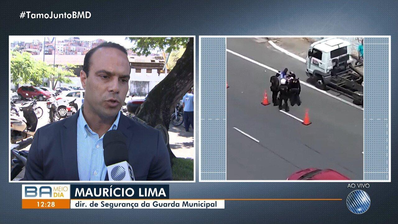 Diretor de segurança da Guarda Municipal fala sobre agressão a motoboy