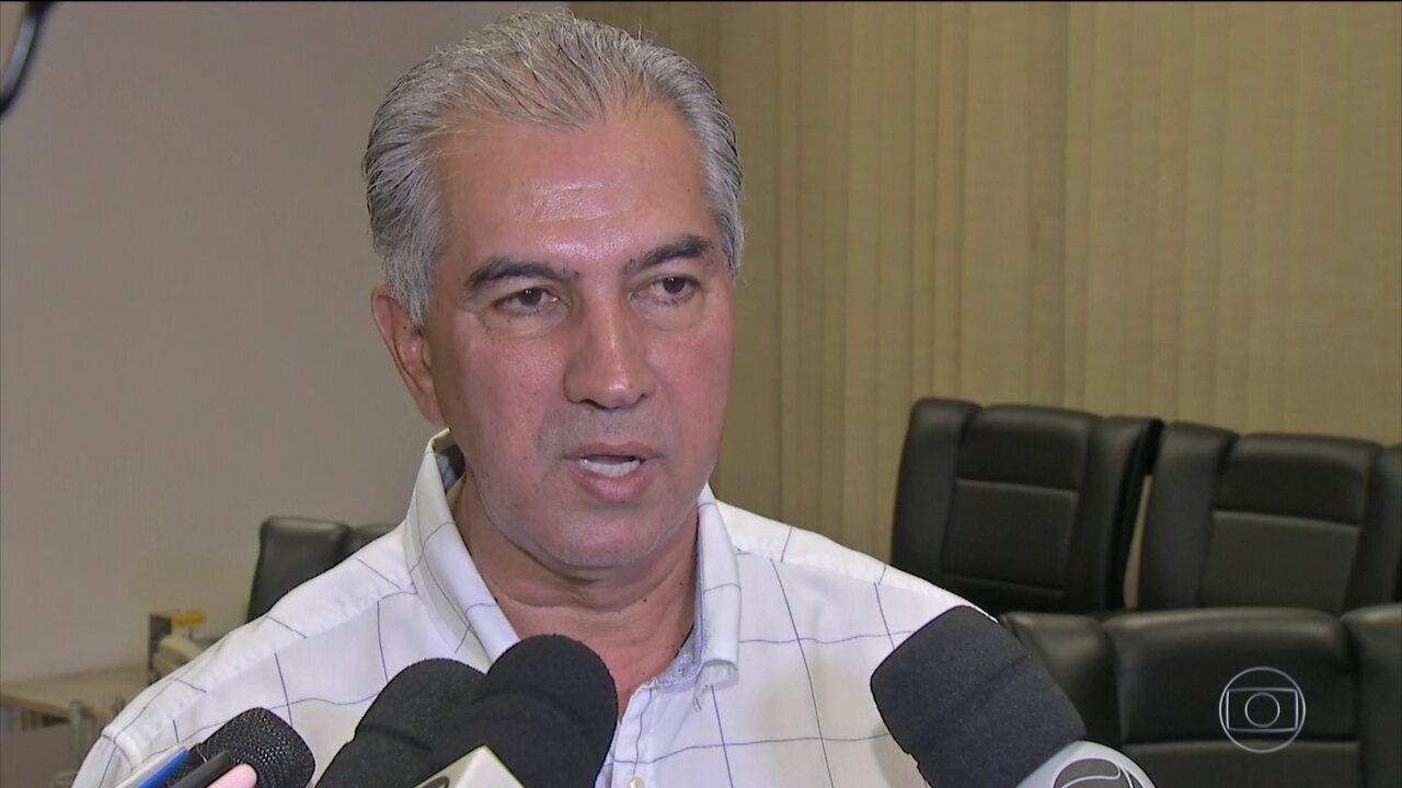 PF faz buscas na casa e gabinete do governador do Mato Grosso do Sul