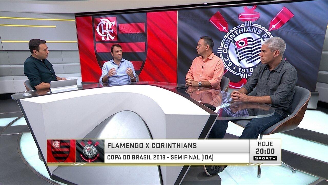 Ricardinho e Petkovic destacam importância das torcidas de Corinthians e Flamengo